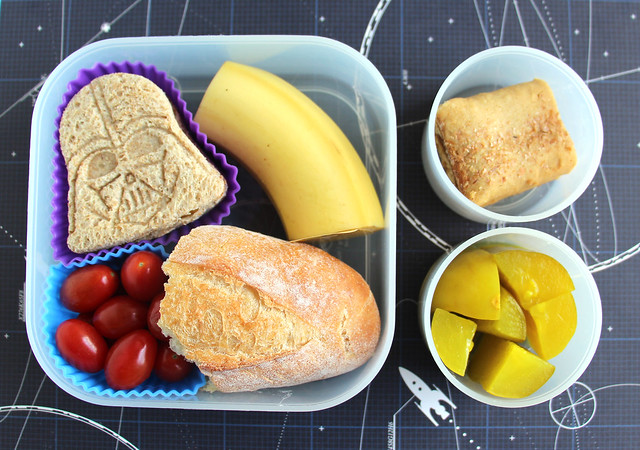 Preschool Star Wars-ish Bento #642