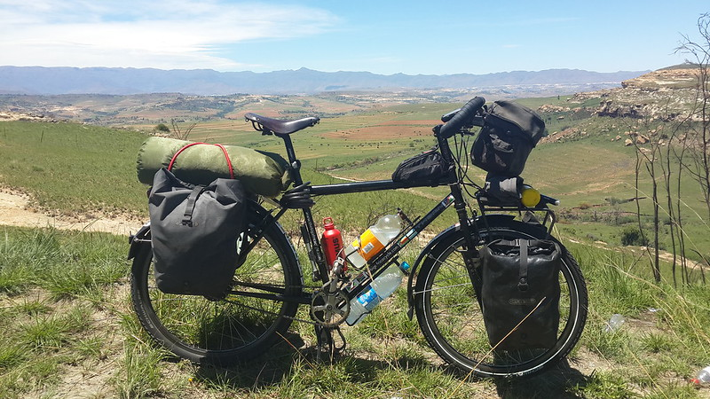 Approaching Lesotho