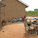 TAO beneficiaries in front of their new house, Uganda, 2007 by Trust for Africa's Orphans