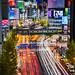 Shinjuku Traffic by Sandro Bisaro