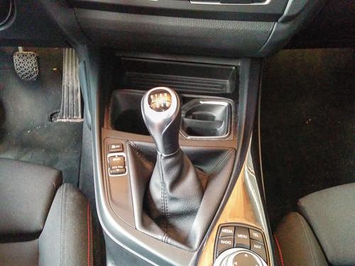 1er BMW (F20): M-Schaltknauf