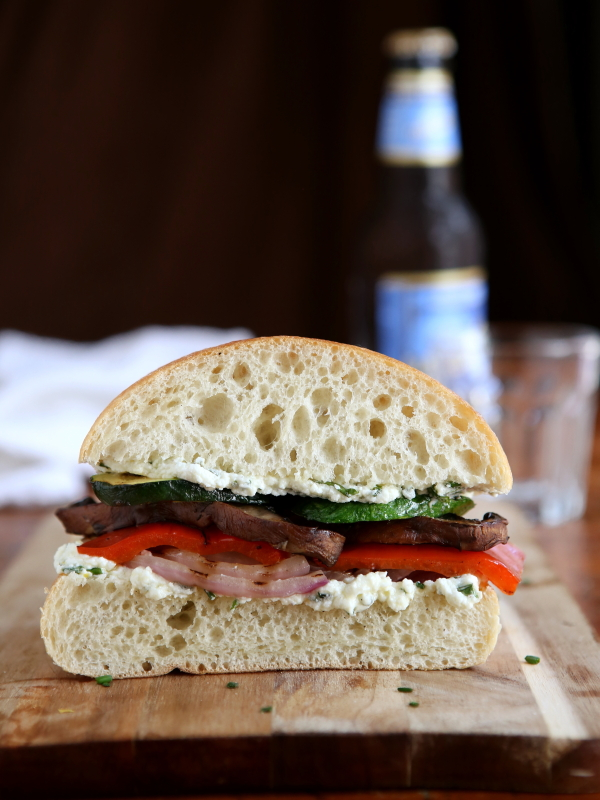 Grilled Veggie Sandwiches from completelydelicious.com