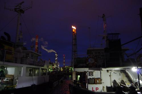 Nightscape at Kawasaki Industrial Zone 02