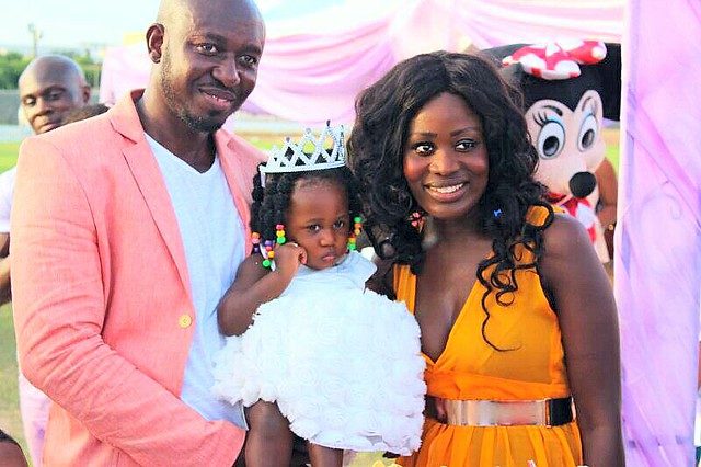 Actress Nana Akua Addo celebrates her daughter's 1st birthday