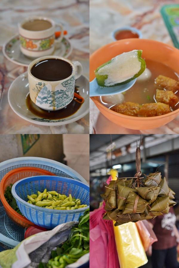 Collage Simee Market Food & Coffee