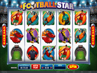 Football Star slot game online review
