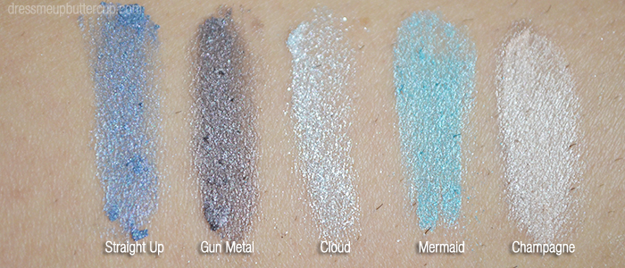 Virginia Olsen 2014 Collection - Shimmery Swatches