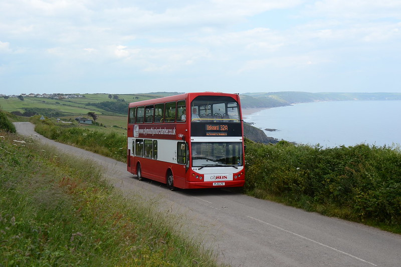1. Bound for Liskeard above the sweep of Whitsand Bay