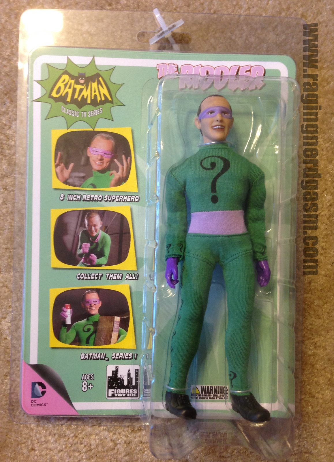 Classic Batman by Figures Toy Coompany The Riddler