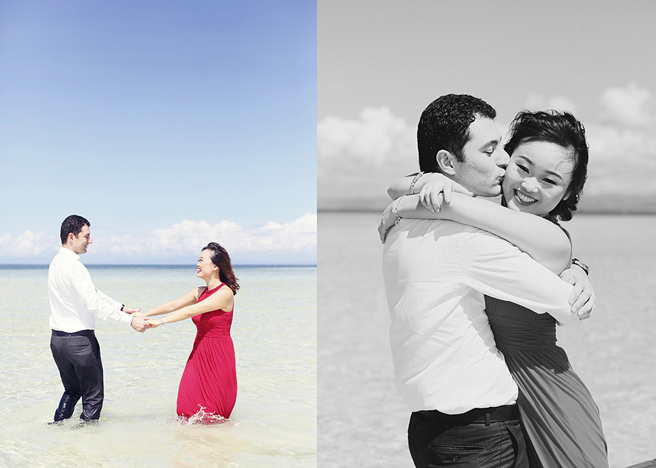 Nalusuan Island Engagement Session, Cebu Wedding Photographer