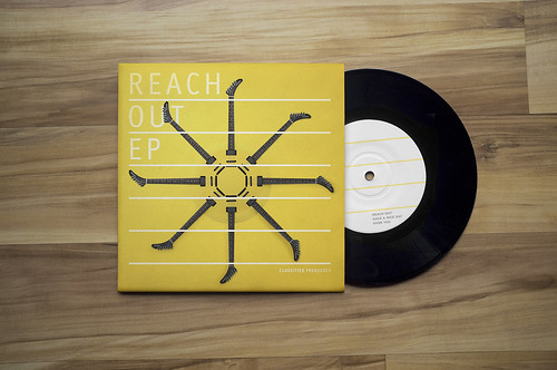 Reach Out EP // Packaging