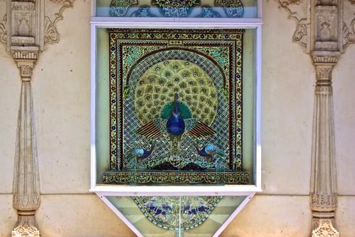 peacock architecture art