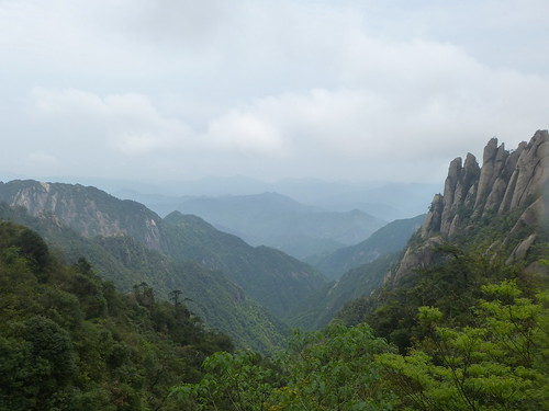 Jiangxi-Sanqing Shan- 2 sentier de l'ouest (2)