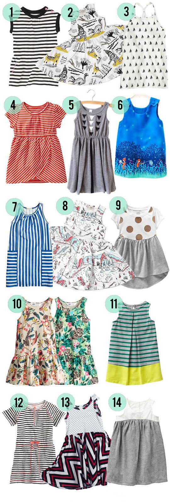 Summer Dresses for Little Girls 2014