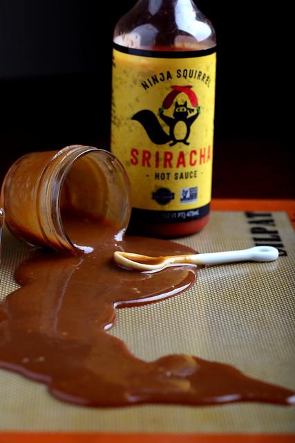 Easy Whiskey-Sriracha Caramel Sauce