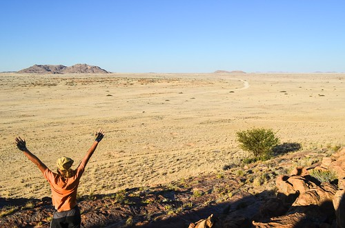 On the was to Brandberg West, Namibia