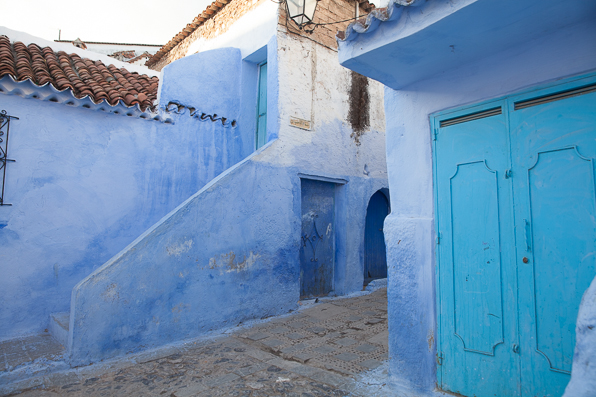 Chefchaouen residential houses