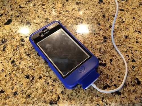 Ian's first smartphone