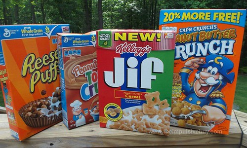 Kellogg's Jif Peanut Butter Cereal Battle Royale Boxes
