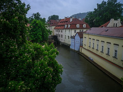 Canal at the edge of Malá Strana