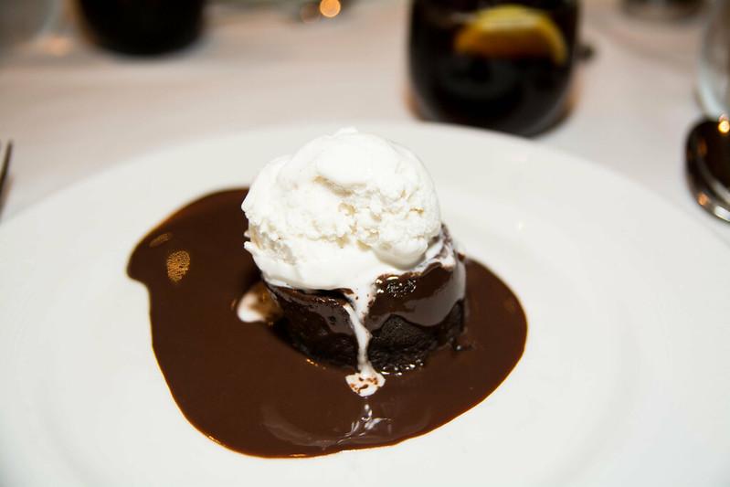 Warm Chocolate Lava Cake