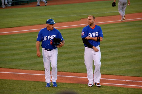 Wally Backman, Andrew Brown