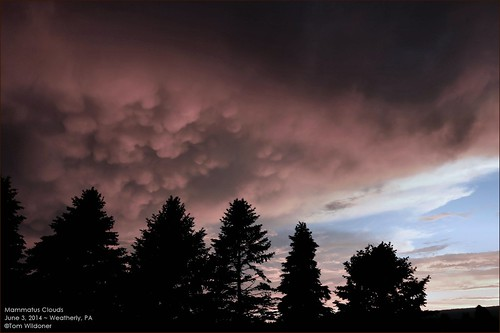 trees sky storm weather june clouds canon pennsylvania earth thunderstorm lightning thunder 6d 2014 mammatus weatherly mammatusclouds tomwildoner