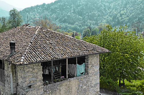 House near Lake Ledro