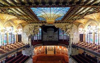 Palau Música Catalana à Barcelone