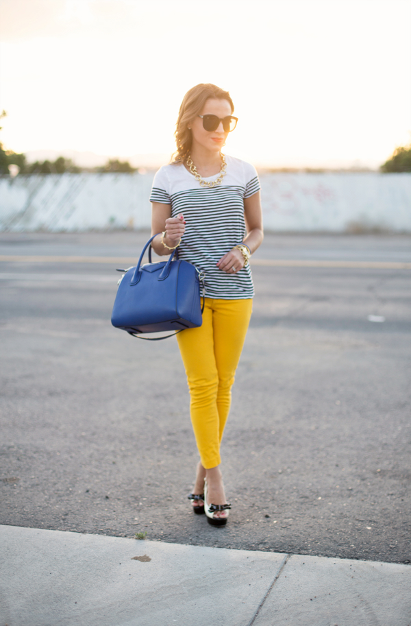Yellow Jeans Outfit