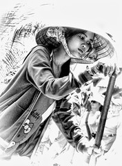 2351 - Mekong  Delta Canals, Sampan  Tour, South Western, Vietnam. - 2014
