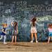 At the blackboard, Seine banks, Paris- by antonioVi (Antonio Vidigal)