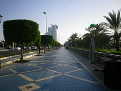 Footpath along the Corniche, Abu Dhabi