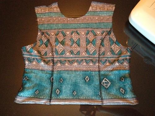 Tribal Maxi Dress - In Progress