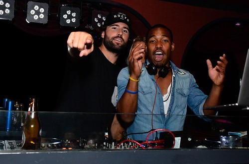 Brody Jenner and William Lifestyle DJ at The Huxley