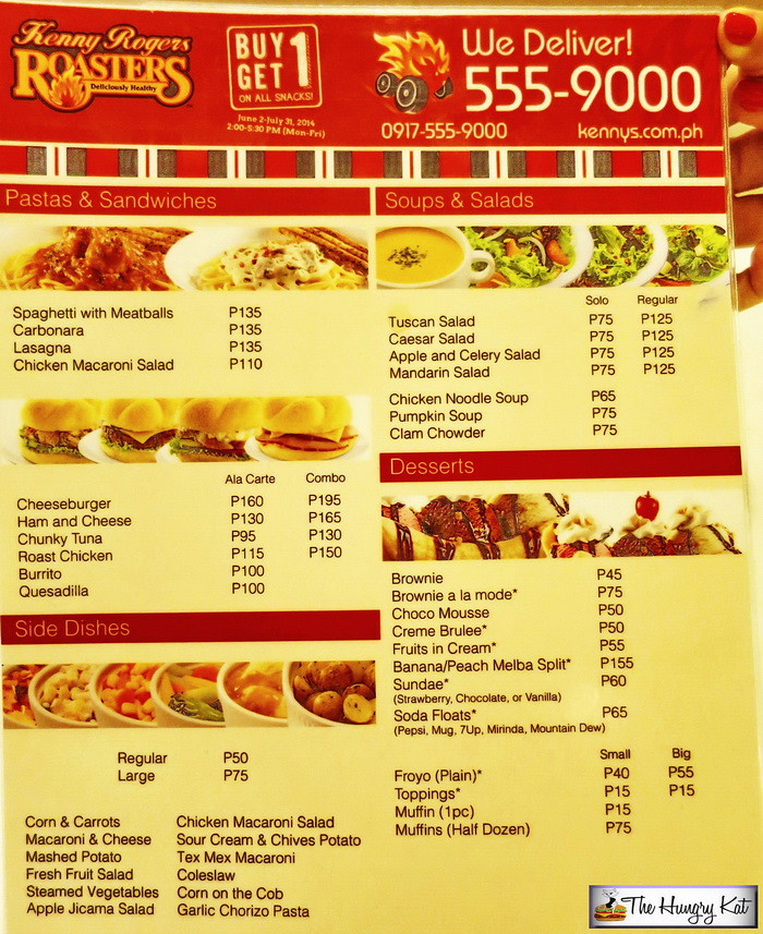 Kenny Rogers Philippines Kenny Rogers Birthday Packages