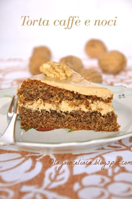 torta caffé e noci