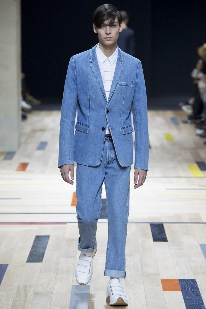 SS15 Paris Dior Homme025_Flint Louis Hignett(VOGUE)