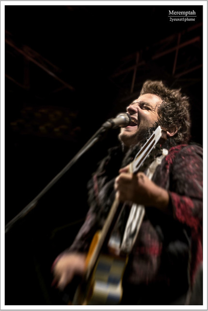 -M- Pause Guitare - Albi 2014 Matthieu Chedid Guitare Accoustique