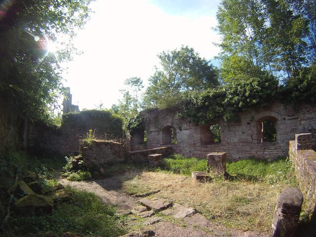 Grand Geroldseck chateau ruins