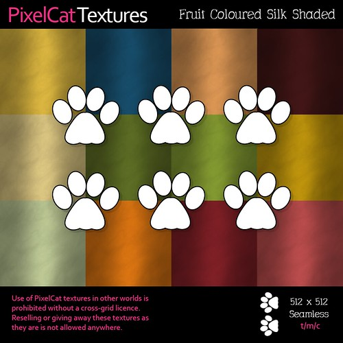 PixelCat Textures - Fruit Coloured Silk Shaded