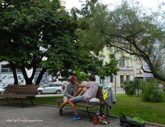 Туристы в Пуле