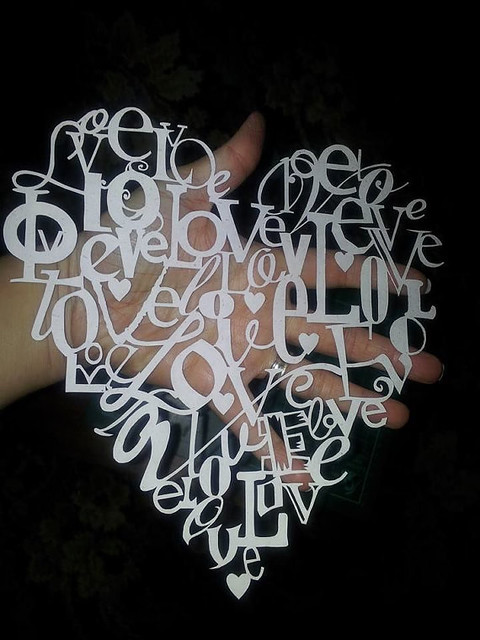 Love Paper Cutting