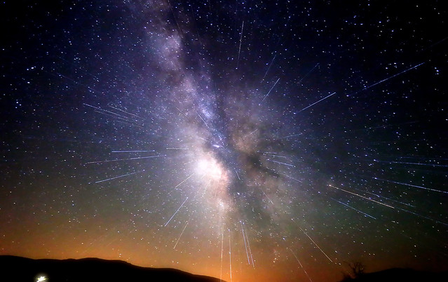 Explosion in the Milky Way