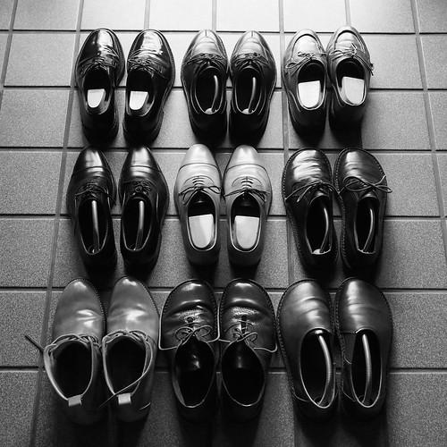 ある営業マンの靴2014夏