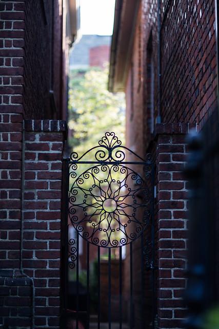 alley gate