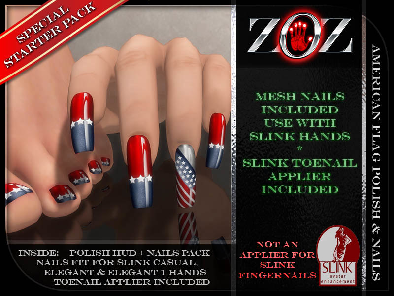 -{ZOZ}- American Flag polish pix 2