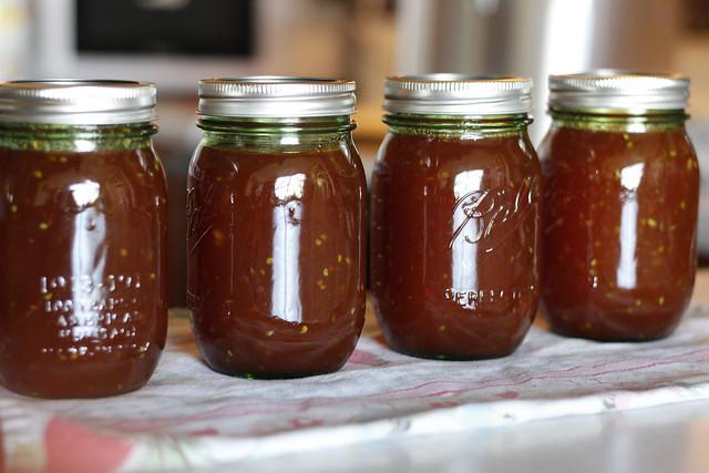 Tomato and Apple Jam
