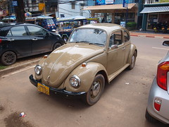 volkswagen new beetle(0.0), automobile(1.0), volkswagen beetle(1.0), wheel(1.0), volkswagen(1.0), vehicle(1.0), automotive design(1.0), subcompact car(1.0), city car(1.0), compact car(1.0), antique car(1.0), land vehicle(1.0), motor vehicle(1.0),
