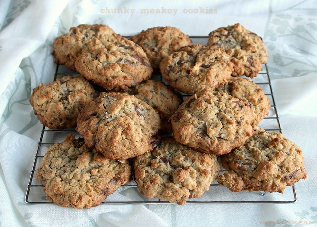 Chunky Monkey Cookies 1